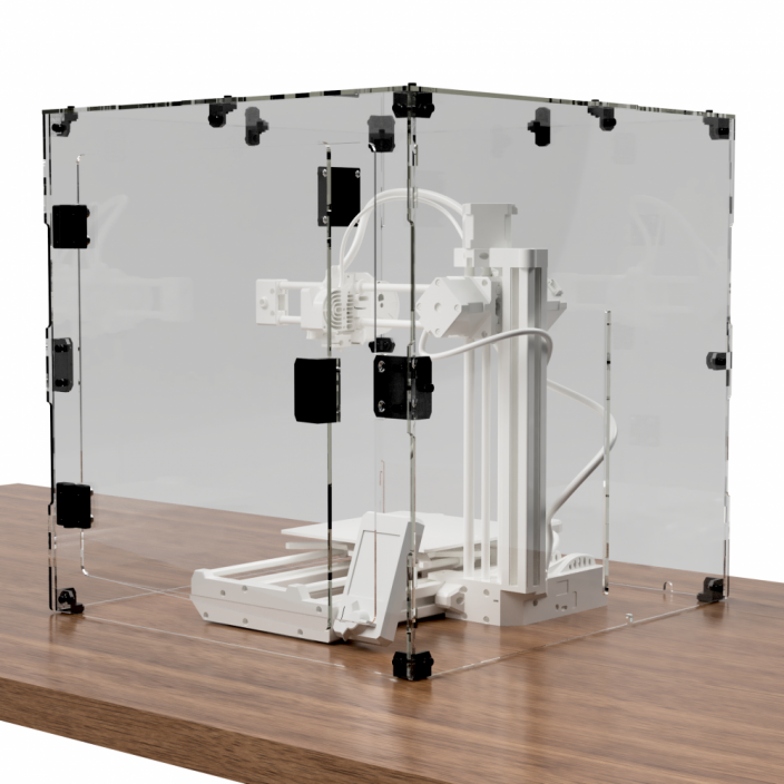 TS Acrylic DIY Kit - Prusa MINI Enclosure
