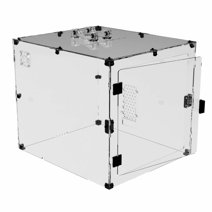TS Acrylic - Prusa i3 MK2/MK3 Enclosure (also fits with MMU2S)